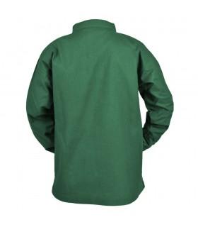 Camisa medieval verde para niño, Colin