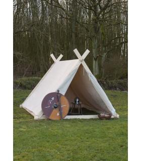 Tienda de campaña vikinga de 2 x 2,3 m,