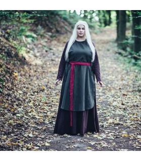 Sobrevesta medieval Magdalena, color verde