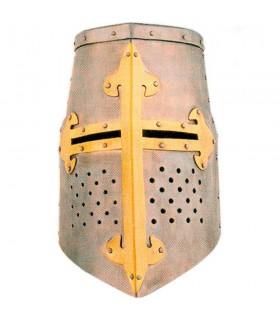 Gran Yelmo Templario de las Cruzadas