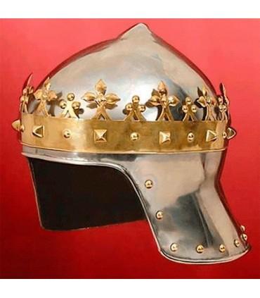 Casco Rey Cruzado, Ricardo Corazón de León