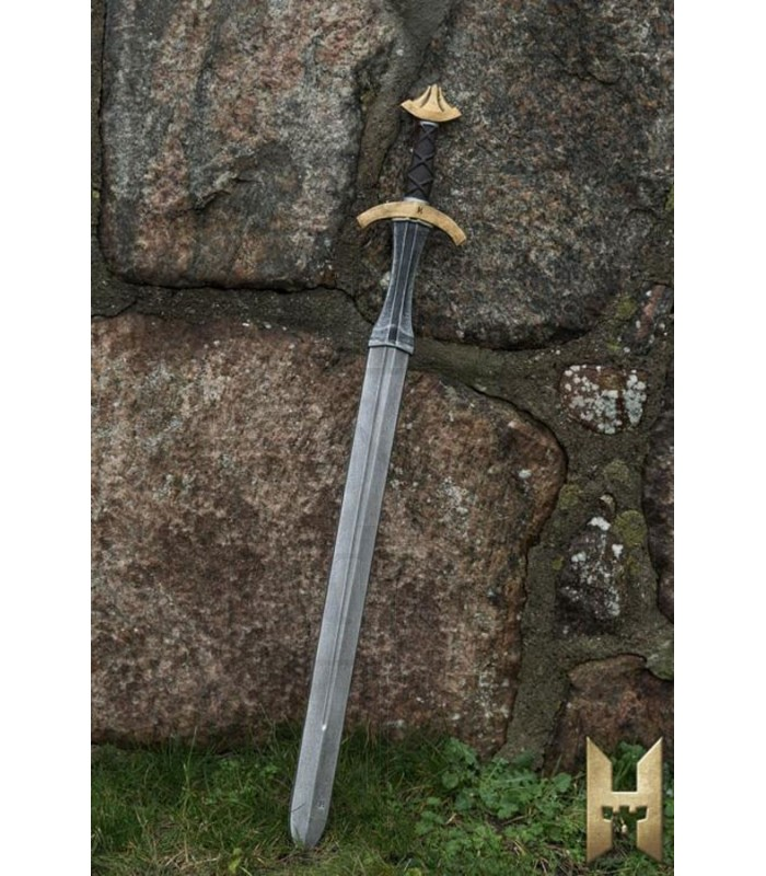Espada medieval de una mano serie Stronghold, dorada