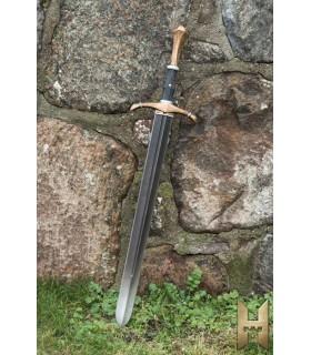 Espada medieval bastarda serie Stronghold 96 cm, dorada