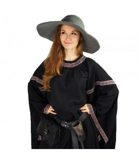 Sombrero medieval elegante en lana