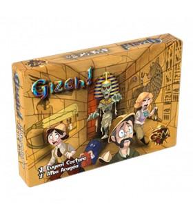 Juego de mesa Gizeh (español, francés, inglés, alemán)