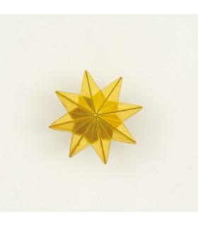 Estrella de 8 puntas metálica para uniforme