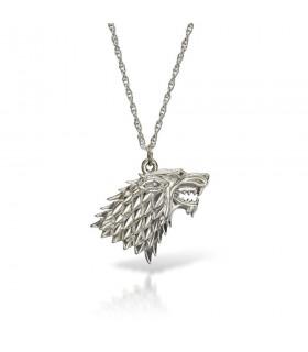 Colgante Lobo con cadena