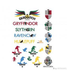 Conjunto de 55 pegatinas de Harry Potter