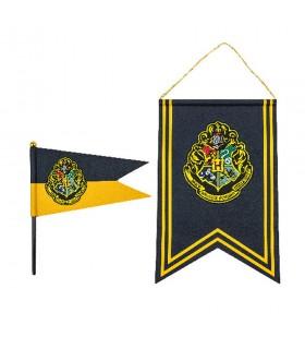 Bandera y estandarte Hogwarts de Harry Potter