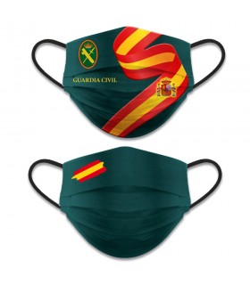Accesorio facial reversible Nivel 3, Guardia Civil