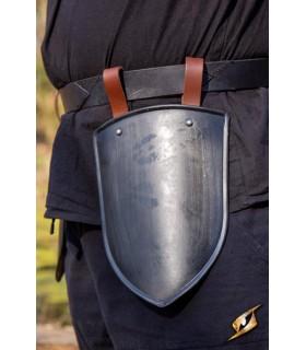 Escarcelas medievales de Escudero, acabado negro