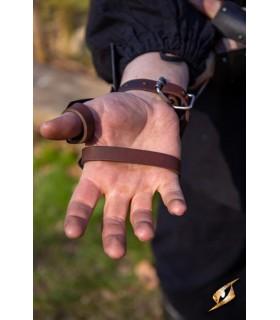 Guanteletes Scouts Medievales, acabado negro