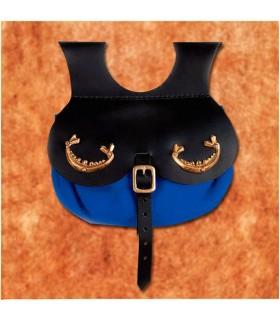 Bolso vikingo modelo Thane, color azul