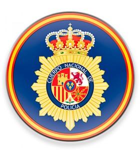 Imán Cuerpo Nacional de la Policía Española CNP para nevera