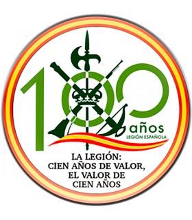 Imán Legionarios, cien años de valor, para nevera