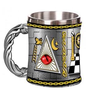 Taza resina de los Masones
