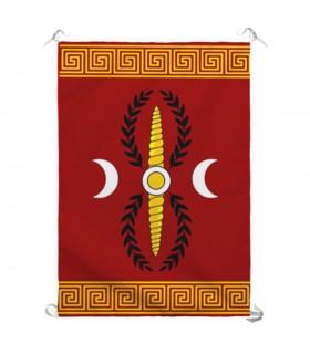 Estandarte Legión Romana SPQR para interiores y exteriores (70x100 cms.)
