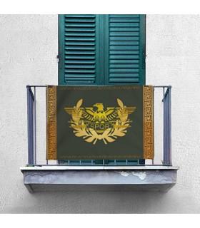 Estandarte Legion Romana SPQR apaisado (70x100 cms.)