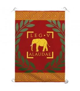 Estandarte Legio V Romana Alaudae (70x100 cms.)