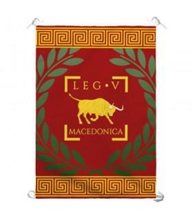 Estandarte Legio V Macedonica Romana (70x100 cms.)