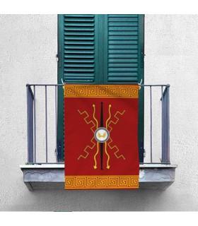 Estandarte Romano Dioses. Interior y exterior (70x100 cms.)