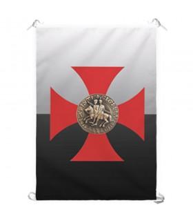 Estandarte Cruz Caballeros Templarios (70x100 cms.)