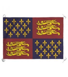 Estandarte Reino de Inglaterra siglos XIV-XV (70x100 cms.)