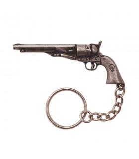 Llavero revolver largo del oeste