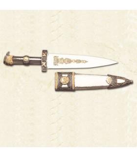 Daga romana con vaina de metal
