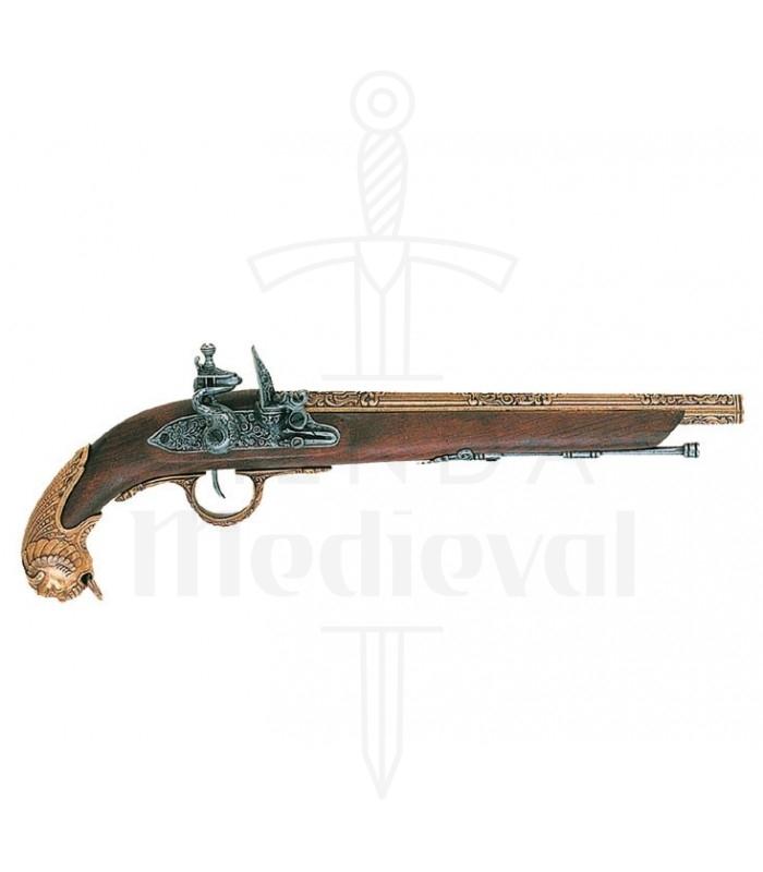Pistola alemana, siglo XVIII
