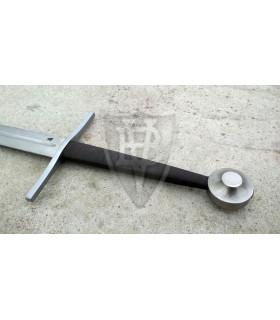 Espada Larga para Combate Medieval, Buhurt-HMB, siglo XI, pomo disco