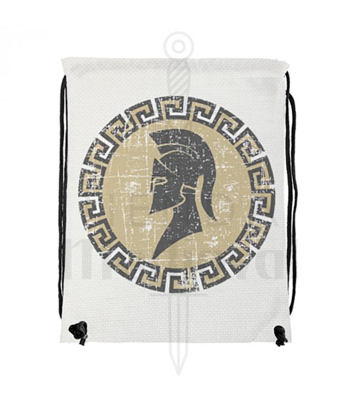 Mochila de cuerdas guerrero griego-espartano (34x42 cms.)