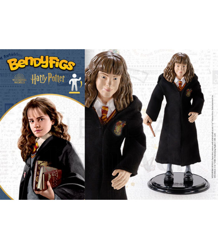 Figura en miniatura Hermione granger de Harry Potter, Toyllectible Bendyfigs