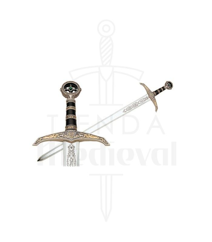 Espada de Robin Hood en Oro y Plata