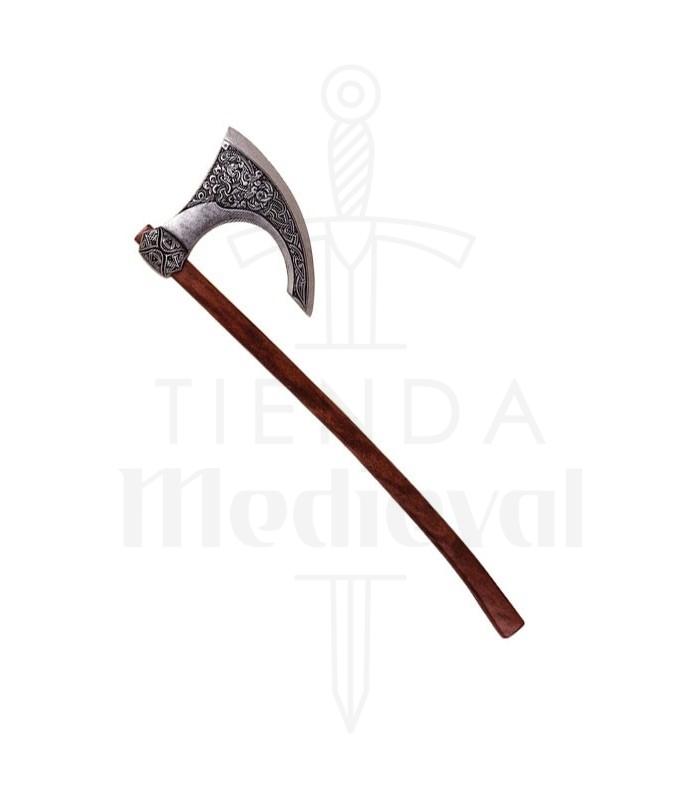Hacha vikinga. Escandinavia siglo VIII (87 cms.)