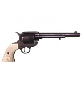 Revólver calibre .45 fabricado por S. Colt, EUA 1873