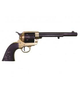 Revólver calibre 45 fabricado por S Colt, EUA 1873