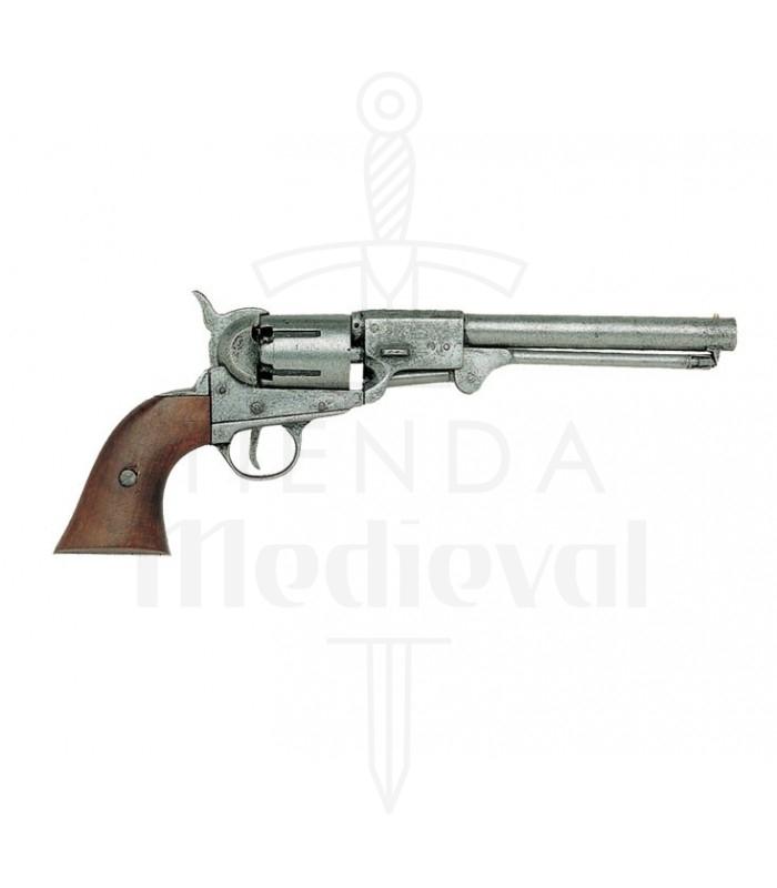 Revólver Confederado fabricado por Griswold & Gunnison EUA, 1862