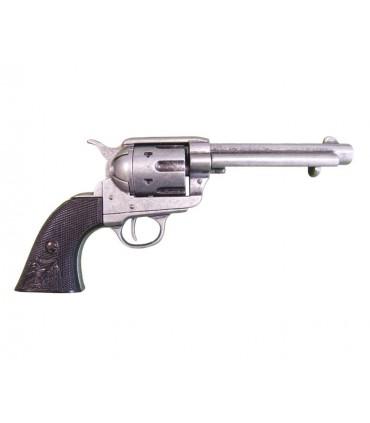 Revólver calibre 45 y cañon 5 1/2 fabricado por S. Colt, EUA 1873