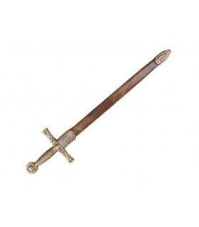 Abrecartas espada Excalibur con funda
