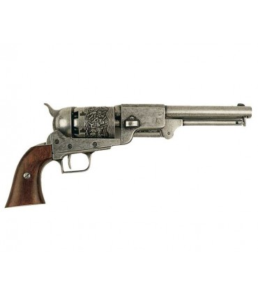 Revólver Dragoon, fabricado por S. Colt, EUA 1848