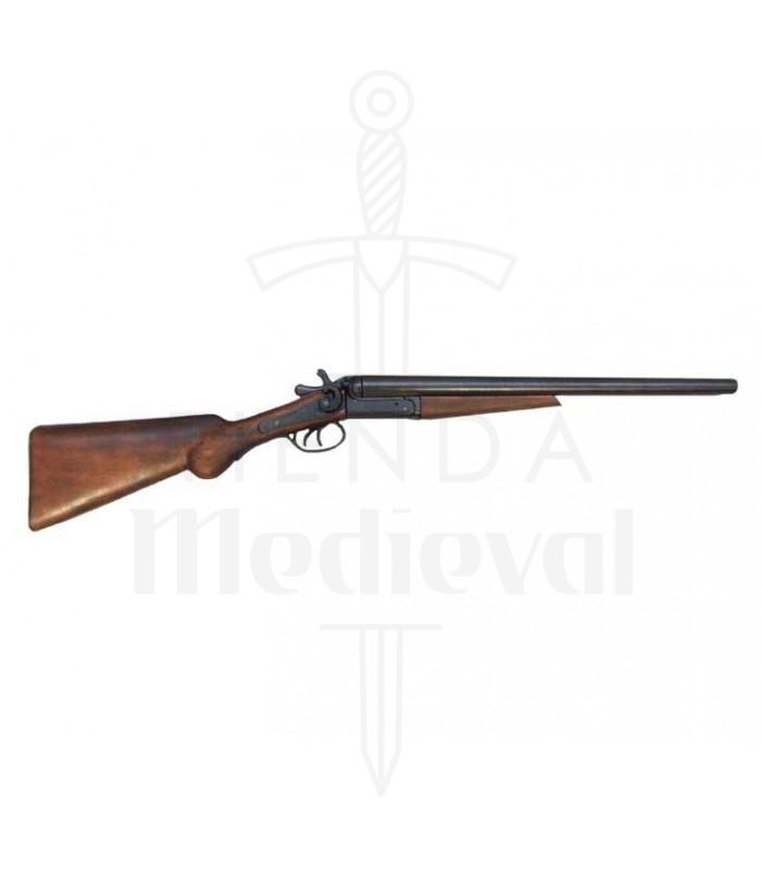 Escopeta de 2 cañones recortados usado por Wyatt Earp, EUA 1881