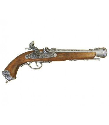 Pistola italiana de percusión, siglo XVIII