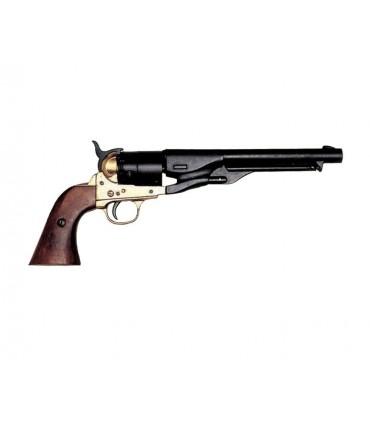 Revólver army de la guerra civil EUA fabricado por S. Colt, 1860