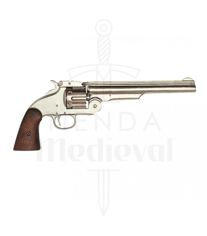 Revólver fabricado por Smith & Wesson, EUA 1869