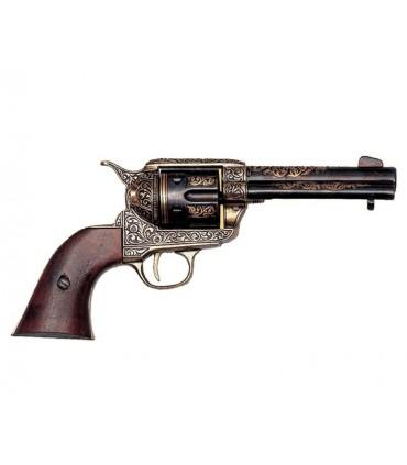 Revólver calibre .45 fabricado por S. Colt, EUA 1886