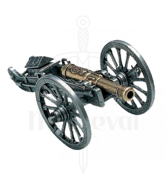 Cañón utilizado por las tropas de Napoleón
