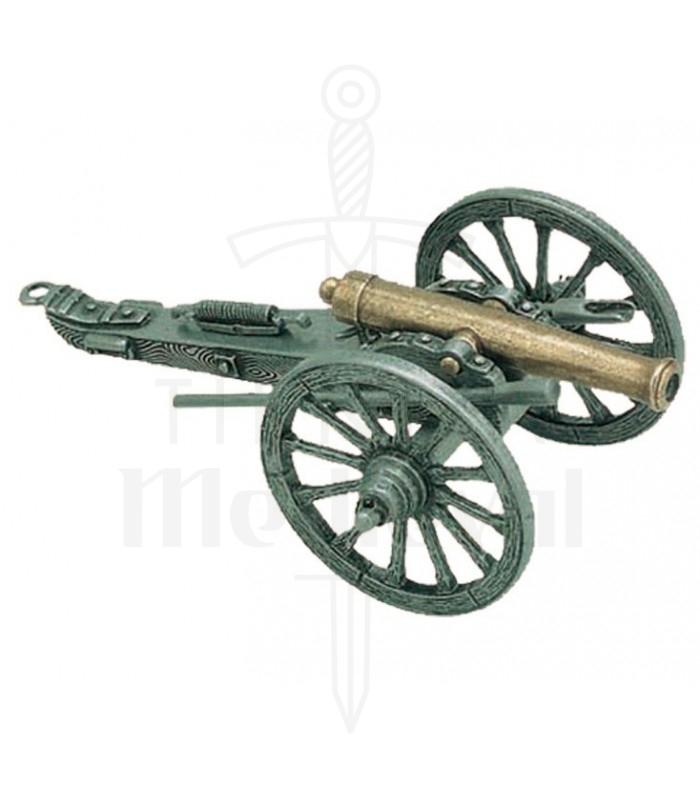 Cañón utilizado en la guerra civil EUA, 1861
