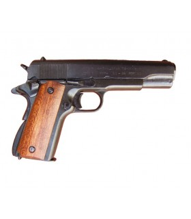 Pistola Colt .45 cachas madera, año 1911