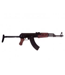 Fusil de asalto soviético AK-47 con culata abatible